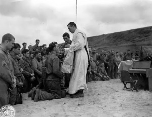 soldier communion