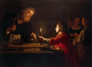 Saint Joseph et Jesus