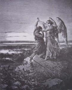 Lutte de jacob avec l ange