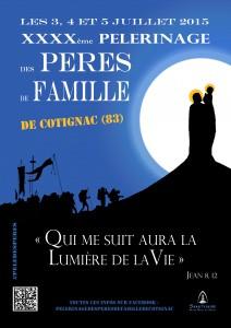Carte postale pèlerinage des pères