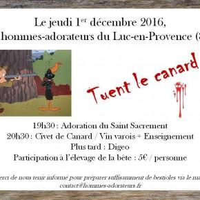 Rencontre des Hommes-Adorateurs du Luc-en-Provence (83)