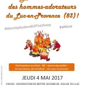 Mai : Méchoui chez les Hommes-Adorateurs du Luc-en-Provence (83)