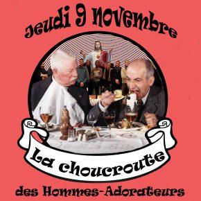 Jeudi 9 novembre : Rencontre «choucroute» des Hommes-Adorateurs du Luc-en-Provence (83)