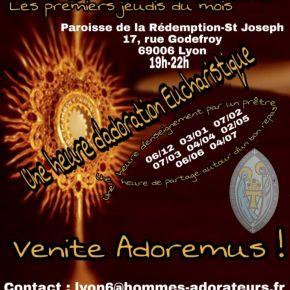 NOUVEAU : Rejoignez le groupe d'hommes adorateurs de Lyon !